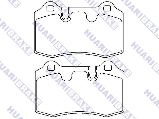 Brake Pad Set:7G432C562AA
