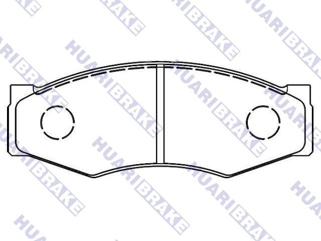 Brake Pad:D1060-F6494