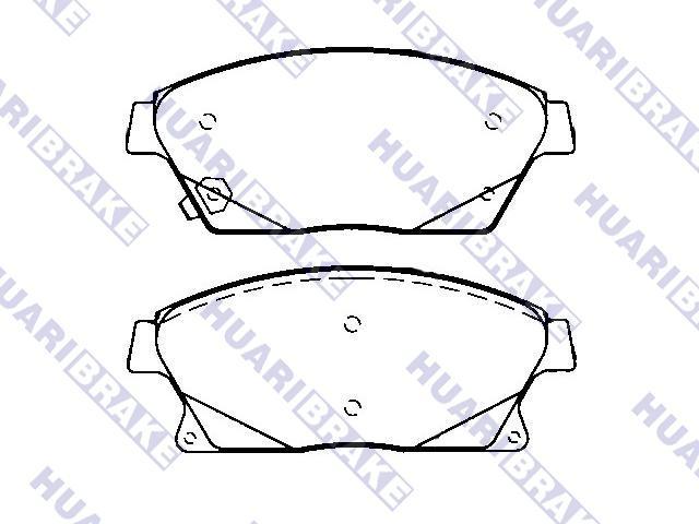 Brake Pad Set:22737859