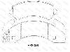 大车盘式伟德国际平台官网首页 Brake Pads Set:HR2009